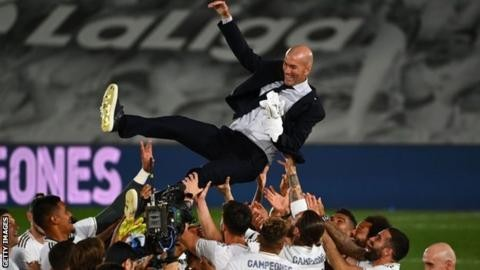 Zidane's Real Madrid wins La Liga Title - Sport news in Nigeria