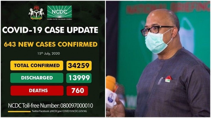 NCDC announces New Covid Cases - Health news and Gist in Nigeria