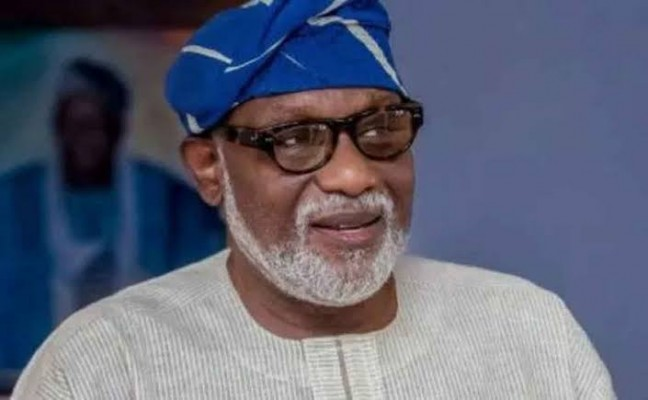 Governor Akeredolu - Politics News and Gist Blog in Nigeria