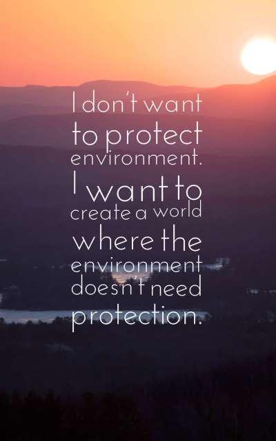 Environmental Quotes