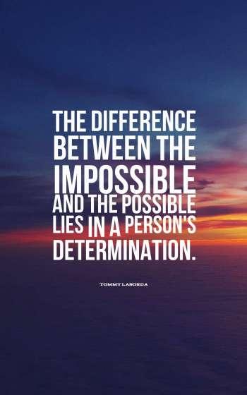 Inspirational Determination Quotes
