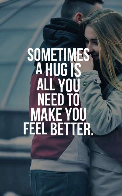 45 Best Hug Quotes With Images