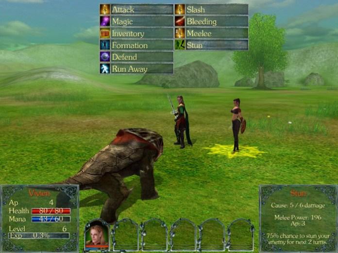 Cena de batalha de Gods: Lands Of Infinity - Special Edition