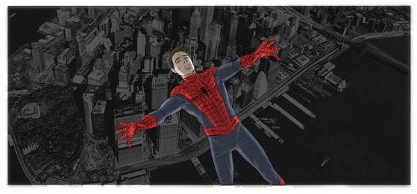 Parte do Storyboard de Homem-Aranha 4