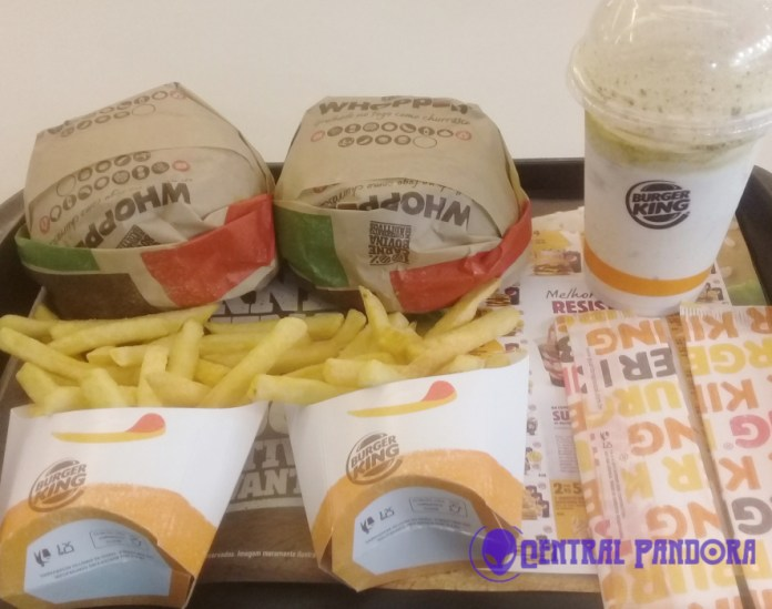 Trio Whopper Monstro