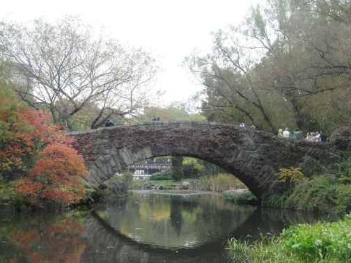 Gapstow Bridge - The Pond