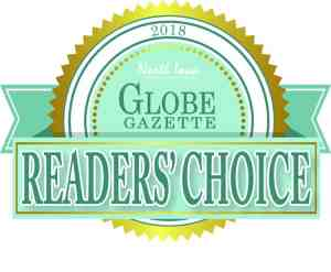 2018 Globe Gazette Reader's Choice