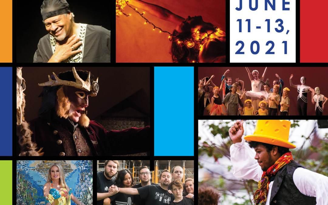 Central PA Theatre & Dance Fest is back! June 11-13, 2021!