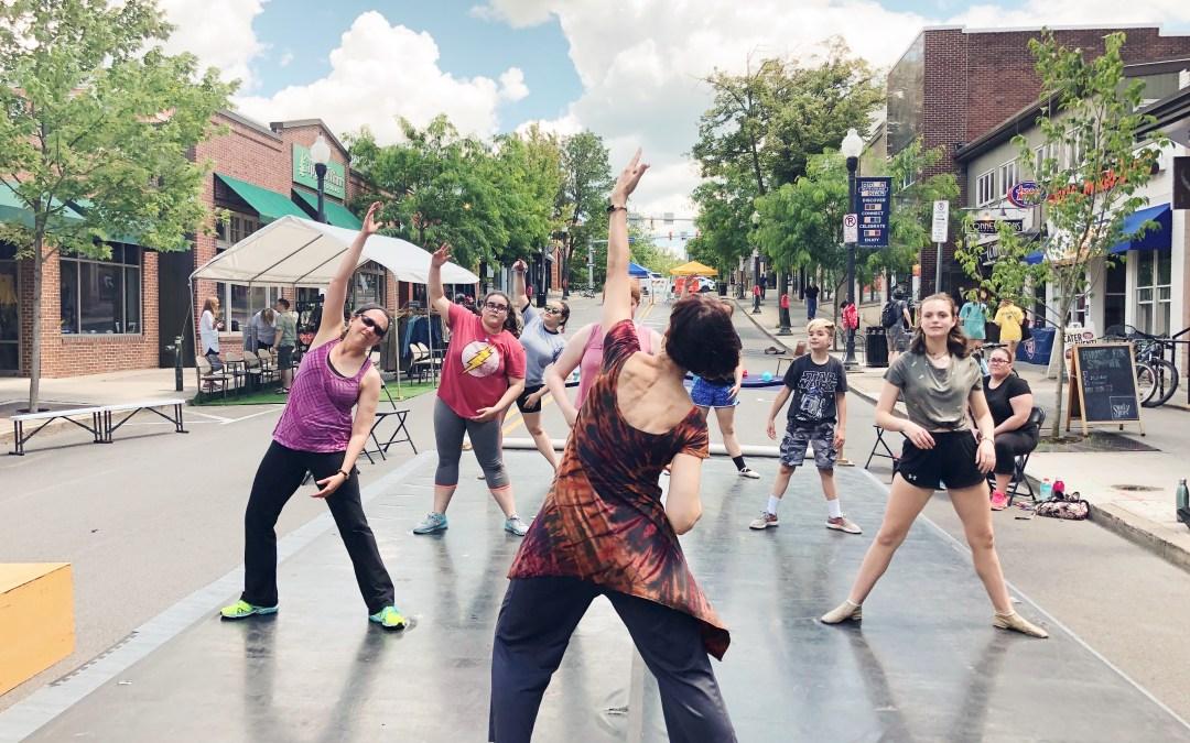 Out Loud: Modern Dance Challenge Week 1