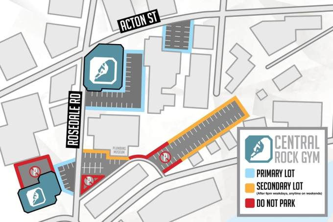 View Parking Map