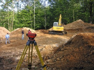 construction layout construction staking construction survey