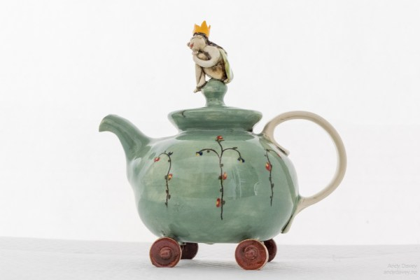 Dreaming of Prince Charming Tea Pot by Marion Mewburn