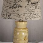 hackberry wooden table lamp