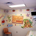 Shady Grove mural at Dell Children's Medical Center