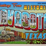 Greetings from Navasota mural