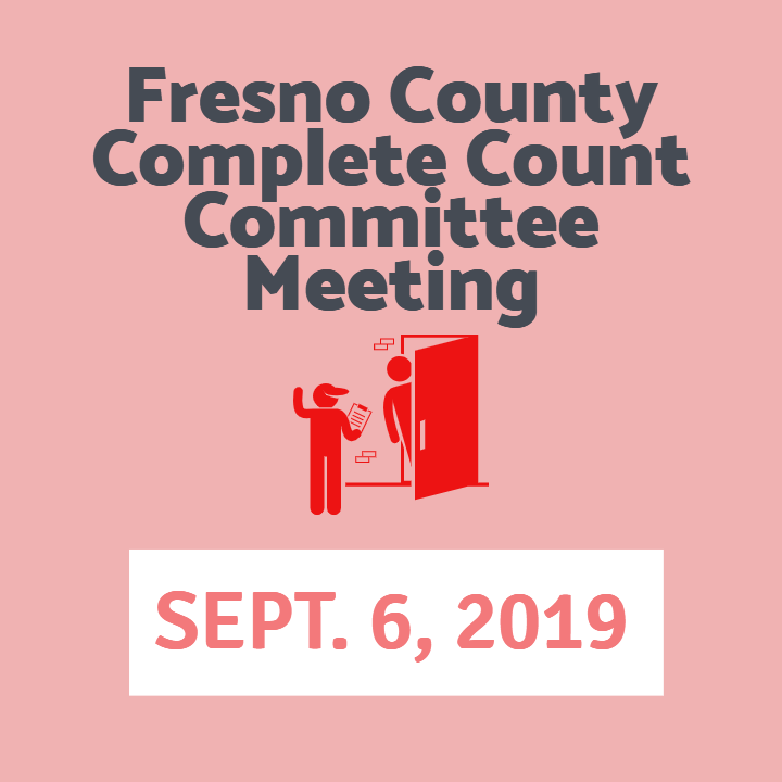 Fresno County Census Meeting September 6 2019