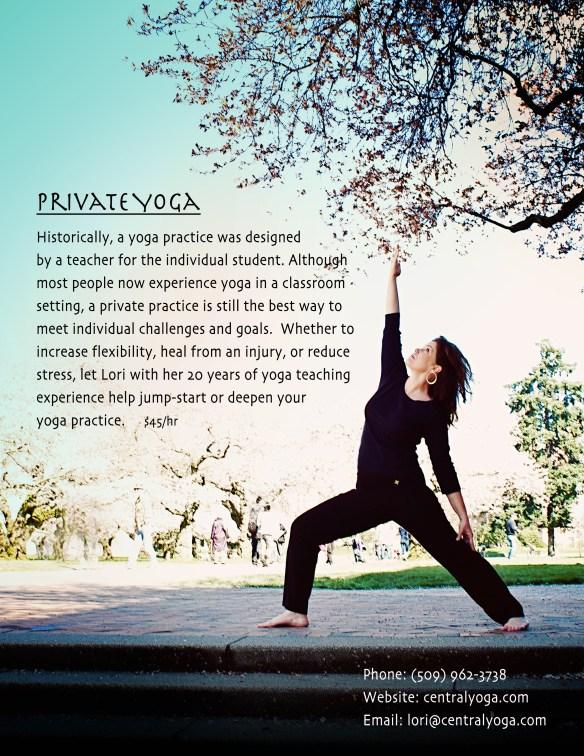 Private Yoga Classes Ellensburg