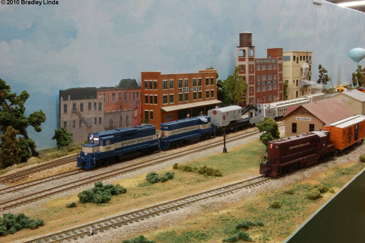 HO Scale Fort Worth, Temple, and Gulf | CentrAMOD