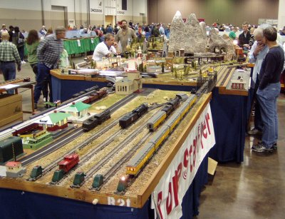 Nice S Scale Layout.