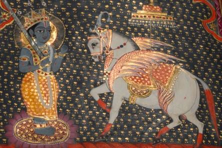 L0040774 Kalki avatar of Visnu. Panjabi manuscript 255