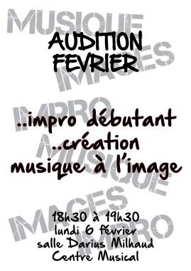 Auditions Février 2