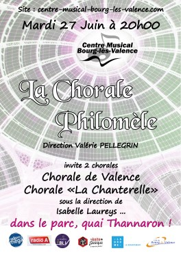 concert 3 bis chorales