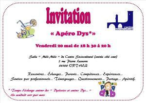 Invitation Dys mai 2016