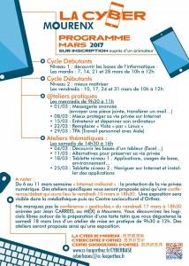 programme mars 2017 Mourenx