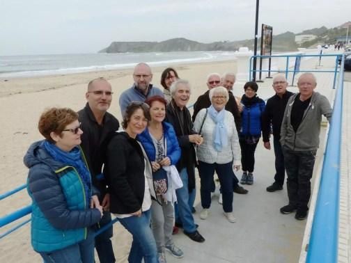 """Le groupe """"conversation espagnole"""" à Santander"""