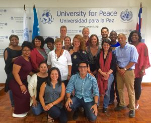 Positive Leadership professional development workshop at the UPEACE Centre for Executive Education in Costa Rica