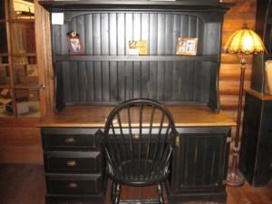 meuble ordinateur bois