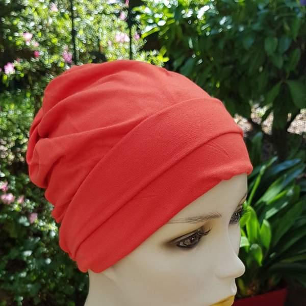 MOL3 Molene Coquelicot - Bonnet chimio Joceli