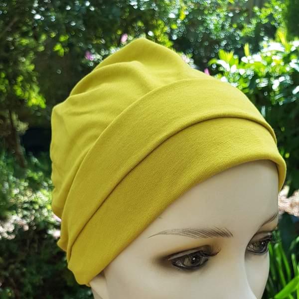 MOL6 Molene Vert anis - Bonnet chimio Joceli