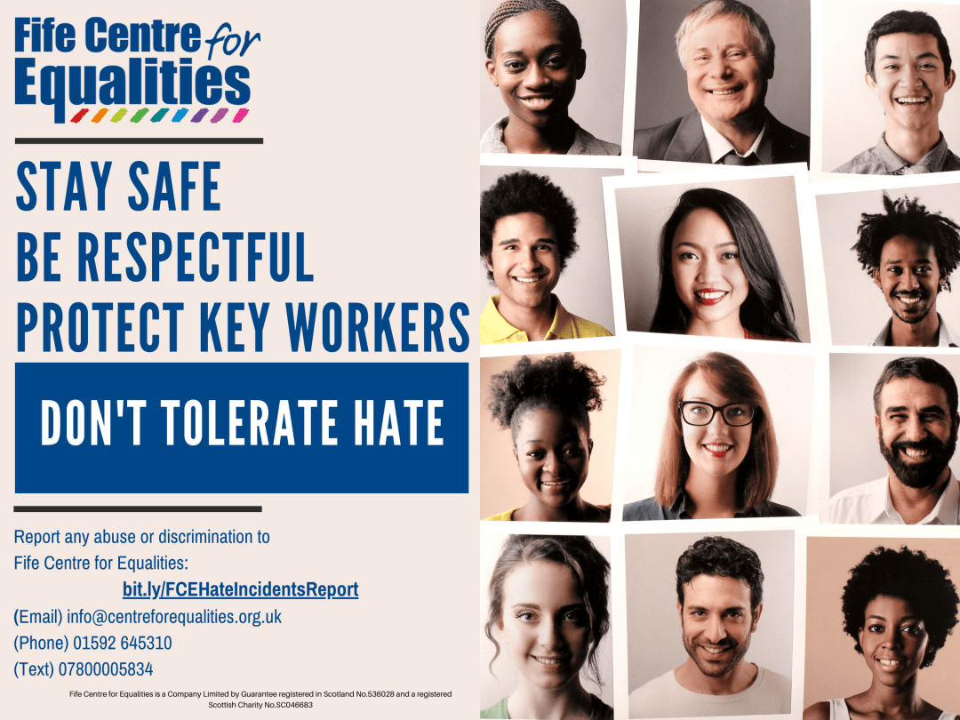 report hate incidents poster bit.ly version