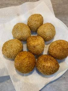 Clair Chue Hong - Chinese sesame balls