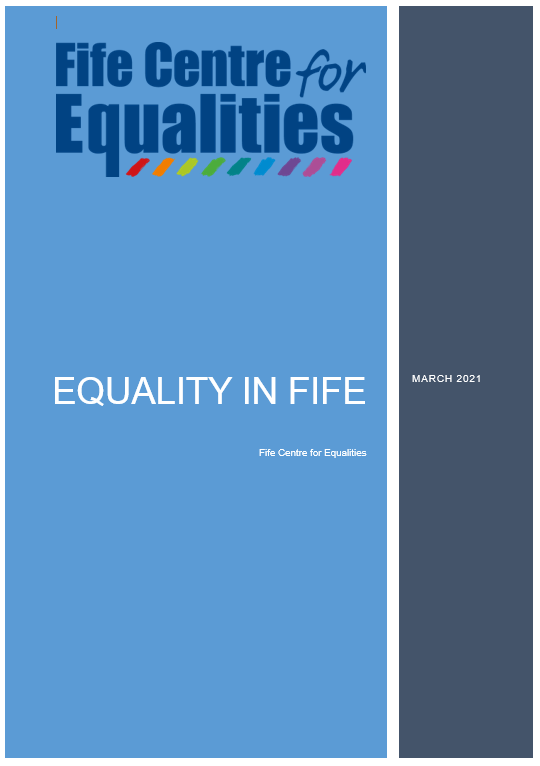 Cover page of the Equality in Fife report