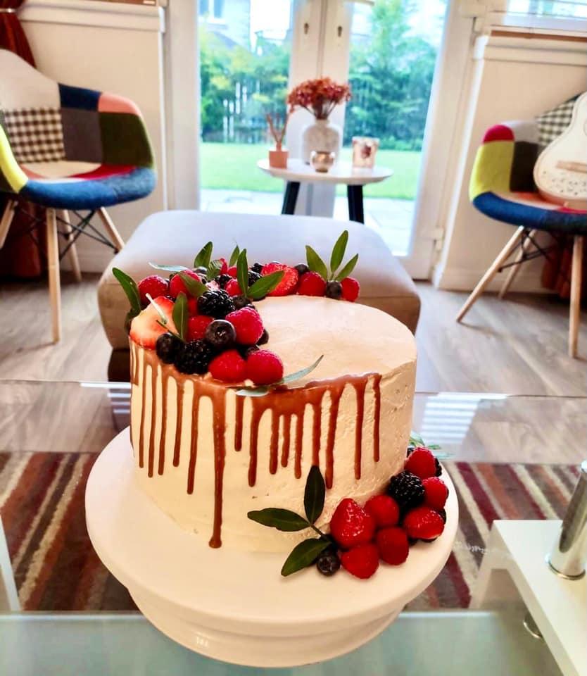 Asma Aamir - Fruit Tres Leches Cake
