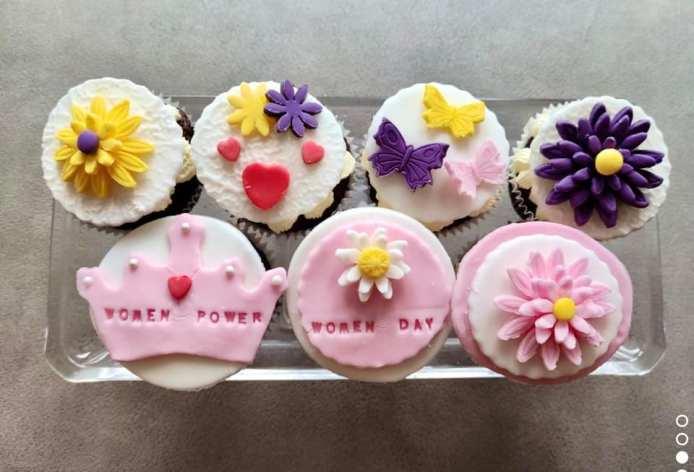 Asma Aamir - International Women's Day Cupcakes