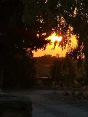 Heather Anne Pitcaithly Knight - Cyprus Sunset 1