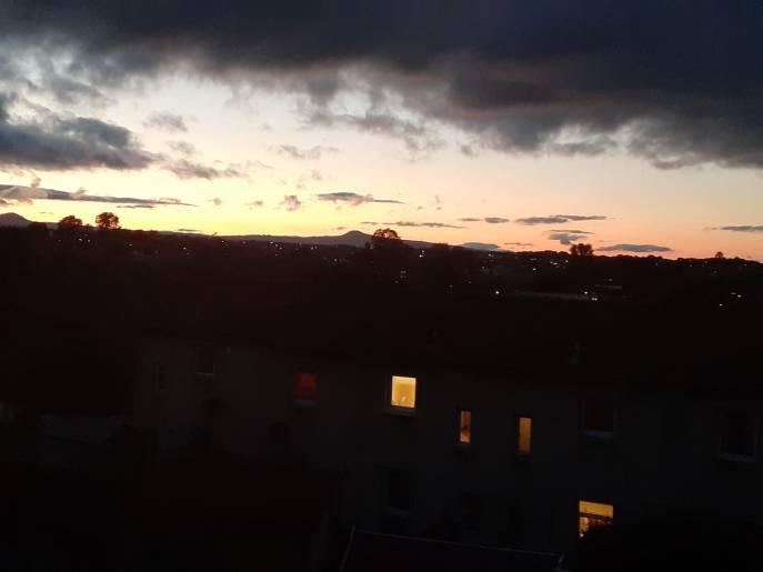ML Genest - The Lomonds Panorama post sunset