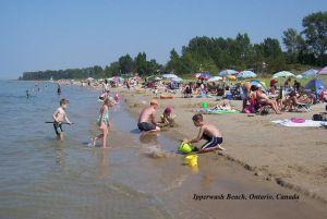 Ipperwash Beach - courtesy of Lakeshore Advance