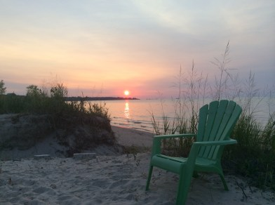 Ipperwash's evening pleasure - S. Hey-Montgomery