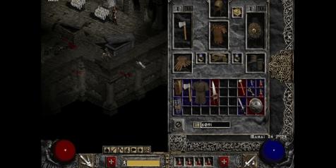 Jeu vidéo, jeux vidéo, Diablo II