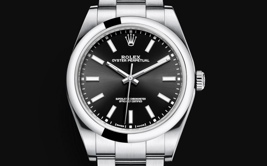 0079d8e0fc5 Rolex Oyster Perpetual 39 Black   White Dial – are these new options a bit  too