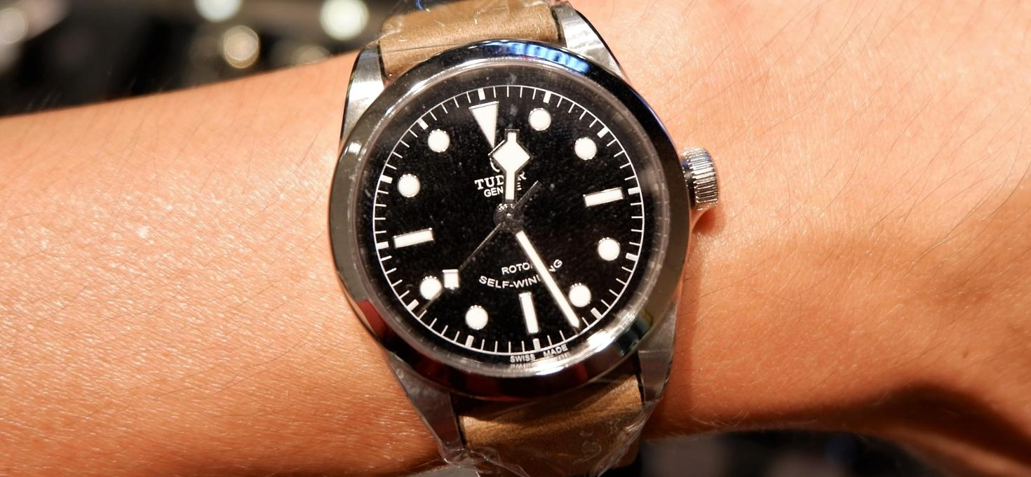 QUICKIE: Tudor Heritage Black Bay 36 & TAG Heuer Carrera Calibre 5