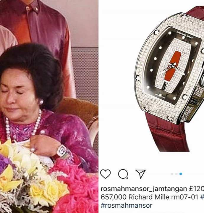 How much do Rosmah's watches REALLY cost?