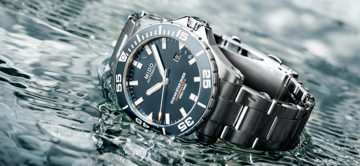 Mido Ocean Star Diver 600 & Multifort Chronometer¹ launched in Malaysia – from RM6,850 and RM4,800