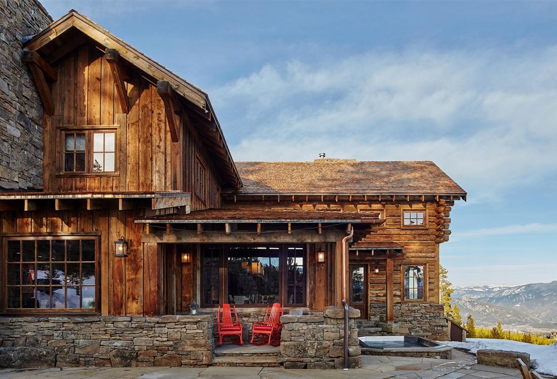 Yellowstone Club Portfolio Centre Sky Architecture