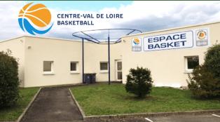 siège Ligue du Centre Val de Loire de basket Ball espace basket