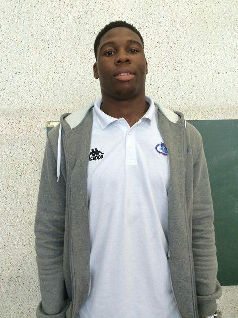 Guerschon Yabusele lors de sa venue à Orléans en septembre 2015